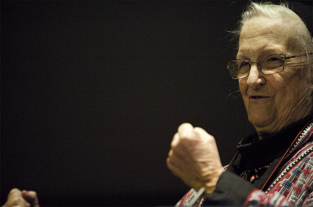 Elinor Ostrom Nobel prizewinner and political economist for Science Magazine